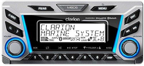 Clarion M606 Marine Audio radio – AudioDia