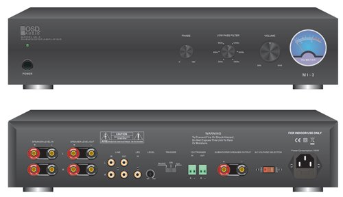 OSD Audio SMP250; 250-Watt Single Channel Mono High