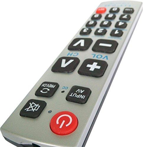 Gmatrix A-TV10 Large Button Universal Waterproof Remote