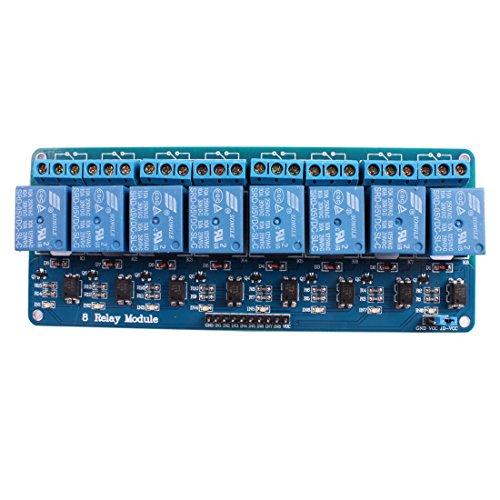 Arduino Compatible 4-Channel DC 5V Relay Module Board