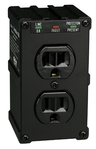 3 Outlet Electronic Surge Protector For Tv S Audio