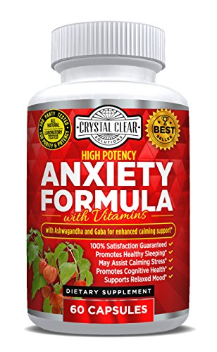 Anxiety Relief and Stress Support Supplement, Best for
