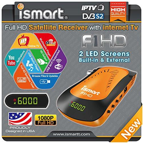 Hybrid Full Hd Fta Satellite Receiver Ismart F1 Hd Dvb