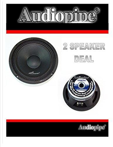 AUDIOPIPE AQX-360 4 2500W 4 Channel Car Amplifier Power Amp